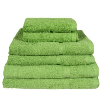 450 GSM Budget Range Lime Green Bath Towels