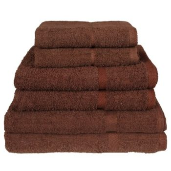 450 GSM Chocolate Brown Hand Towels