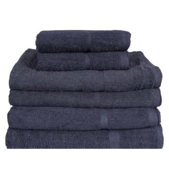450 GSM Dark Grey Hand Towels