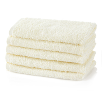 500 GSM Luxury Cream Guest Towels