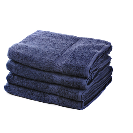 500 GSM Navy Blue Hand Towels