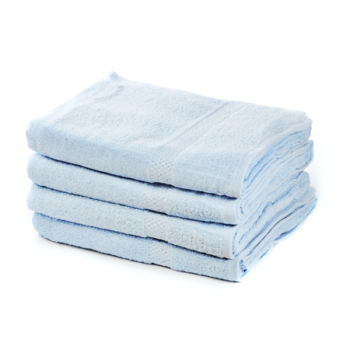 500 GSM Sky Blue Hand Towels