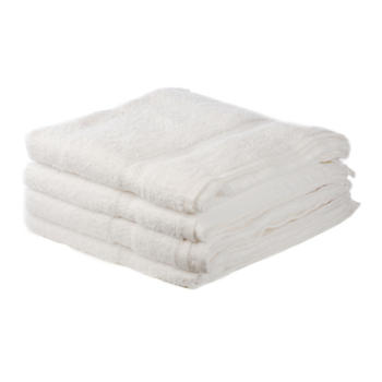 500 GSM White Hand Towels