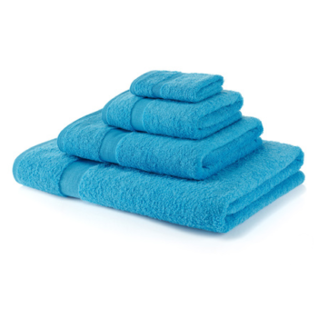 600 GSM Cobalt Towel Bale 4 Piece – 2 Hand Towels, 2 Bath Towels