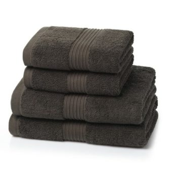 700 GSM Chocolate Brown Towel Bale 5 Piece – 2 Face Cloths, 1 Hand Towel, 1 Bath Towel, 1 Bath Sheet
