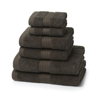 700 GSM Chocolate Brown Towel Bale 6 Piece – 2 Face Cloths, 2 Hand Towels, 2 Bath Towels