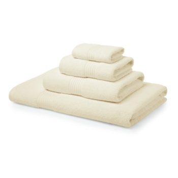 700 GSM Cream Towel Bale 5 Piece – 2 Face Cloths, 1 Hand Towel, 1 Bath Towel, 1 Bath Sheet