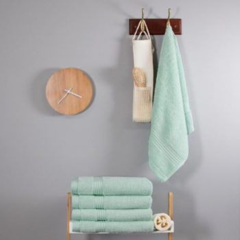 700 GSM Duck Egg Blue Bamboo Hand Towel