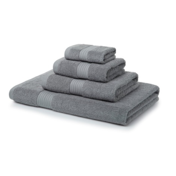 700 GSM Silver Towel Bale 5 Piece – 2 Face Cloths, 1 Hand Towel, 1 Bath Towel, 1 Bath Sheet
