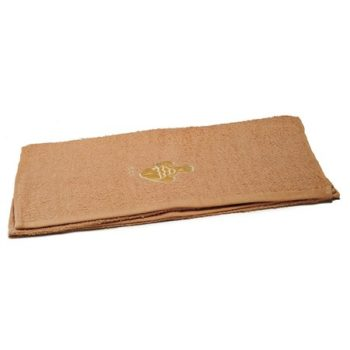 Fish-Embroidered-Brown-Bath-Towels-Value-Range