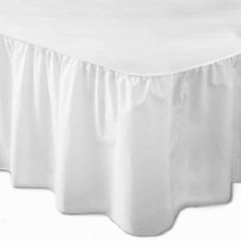 200 TC Percale Single Base Valance 100% Cotton